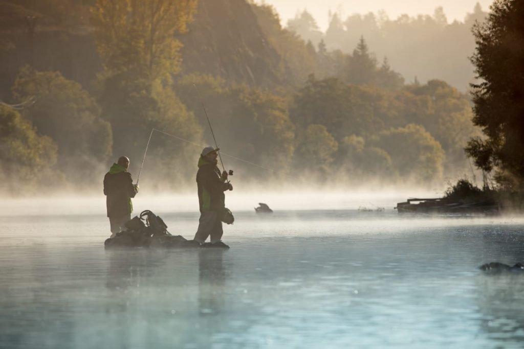 North Fishing, i flott natur